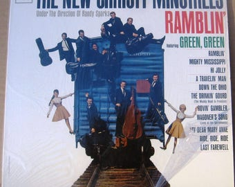 1963 Vinyl LP The New Christy Minstrels-Ramblin cl2055 Near Mint, no dust cover FREE SHIPPING