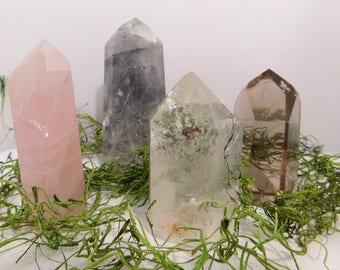 Crystal Carved Oblisk