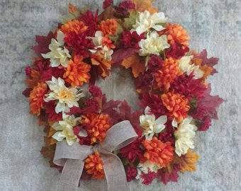MADE TO ORDER- Fall Wreath!