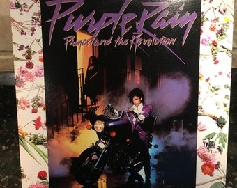 "Prince ""Purple Rain"" Original 1980's Excellent Condition Vinyl Lp Record- Free Shipping on all Orders!"