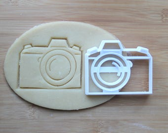 Camera DSLR Photographer 3D Printed Cookie Cutter