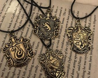 Hogwarts House Necklace