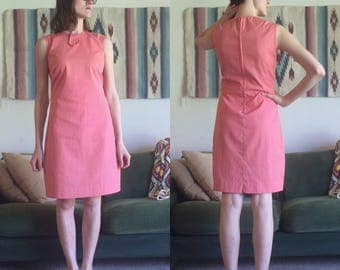 60s Shift Dress/Size 2