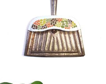 Vintage dust pan/60s dust pan/JV Reed