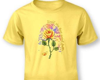 The Last Petal baby t-shirt