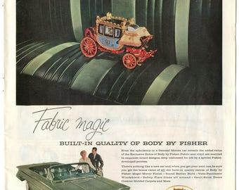 1960 Oldsmobile 98 / Fisher Ad (PO-60-132)