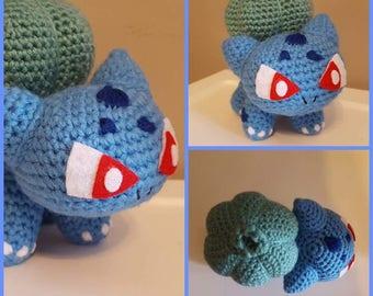 Bulbasaur Pokemon Amigurumi Doll