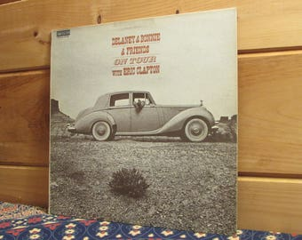 Delaney & Bonnie And Friends - On Tour With Eric Clapton - 33 1/3 Vinyl Record