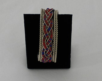 Vintage Beaded Cuff Boho Bracelet *FREE SHIPPING*