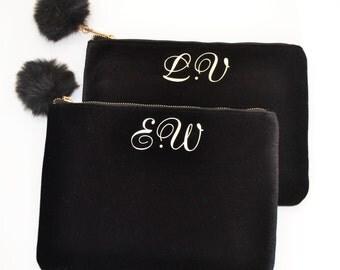 Will you be my bridesmaid gift bag, wedding favor bags, bridesmaid gift idea, wedding favors, Cosmetic bag, Personalised bag, toiletry bag