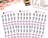 Makeup Brush Planner Stickers Beauty Blender Wash Brushes For use in ERIN CONDREN LIFEPLANNER ™ Happy Planner, Filofax, Tn, Kate Spade.