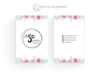 Business card design, custom business card design,Premade Business Card, Business Card Template,Business card design, custom design