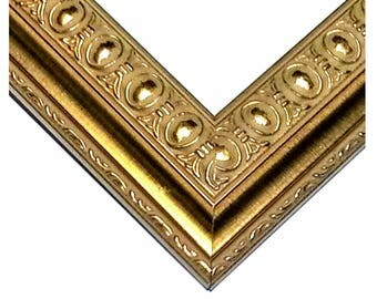 Ornate Gold Picture Frame, Antique Photo Frame Gold Ornate Wood, 4x6, 5x7, 8x10, 11x14, 16x20, 17x20, 20x24, 24x30, 24x36