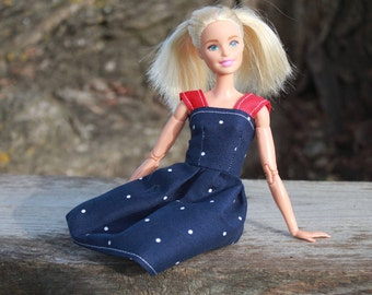 Fourth of July~Barbie Clothes, Barbie Dress, Doll clothes, 11.5 inch doll clothes