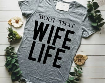 MARRIED AF, Just Married Shirts, Fiance Shirt, Married Af Shirt, Wife Life, Bout That Wife Life, Honeymoon Shirts, Bride Tanktop, Married