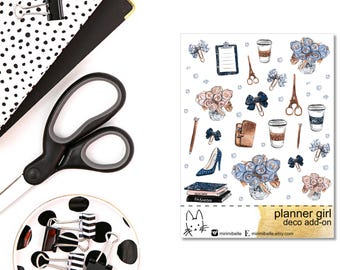 Planner Girl - Deco Add-On Sticker
