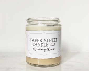 Buttery Nutty Brew | butter beery candle | natural candle | butterscotch candle | buttery candle