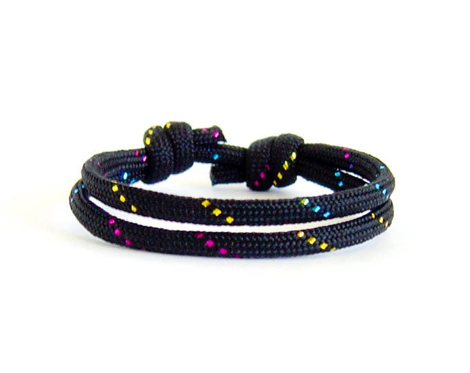 Sparkling Bracelet Jewelry, Sparkling Gifts, Sparkling Love Bracelet Knots. Make a Wishes Bracelets Kit, Tennis Fan Present