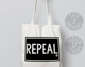 CHARITY Repeal the 8th, shoulder bag, personalised gift, gift for her, gift for women, activist, girl power, human rights, ireland