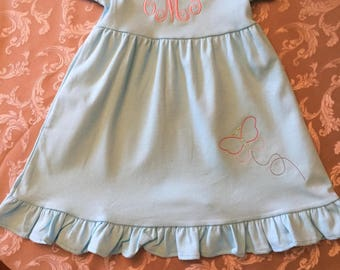Butterfly Dress/Butterfly/Sewthern Creations/Sewthern/Spring Dress/Personalized Dress/Monogrammed Dress/Summer Dress