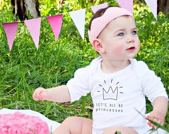 Coming Home Outfit, Princess Baby Shower Baby Onesie, Funny Baby, Christmas Stocking Filler, Newborn, Take Home Outfit, Princess Birthday