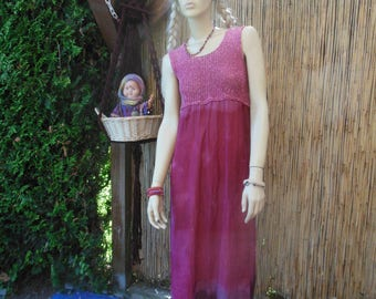 Vintage India cotton cheesecloth hippie sundress small/ medium