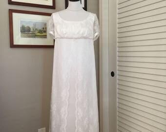 "Jane Austen Regency ""Wedding Gown"" by Iblamejanetoo - U.S. size 4-6"