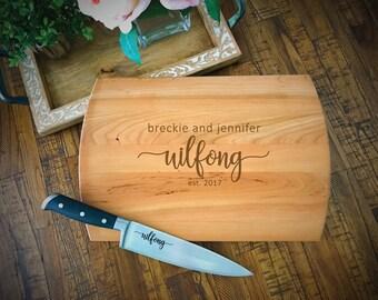 SALE Cutting Board, Bride & Groom Cutting Board, Wedding Cutting Board, Bridal Shower Gift, Custom Cutting Board, Wedding Gift, Bride Gift
