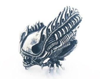 Alien - Ring - Sterling Silver 925