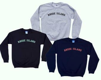 RHODE ISLAND - Crewneck Sweatshirt