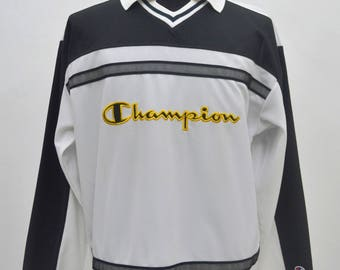 Champion Product Jersey Shirt spellout big logo size L large