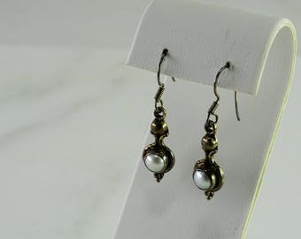 Dangle Sterling Earrings Pierced