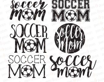 Svg - Soccer Mom SVG - Soccer Mom DXF - Soccer Mom Clipart - Soccer Mom Graphics - Soccer Mom Cut Files - Soccer SVG - Sport Mom