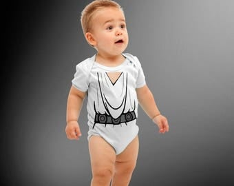 Princess Leia Costume onesie | Baby Super Hero| Halloween Costume | Kids Cosplay | Baby Shower Gift | Star Wars | Princess Leia | Leia