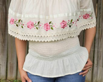 Mexican Campesina Blouse