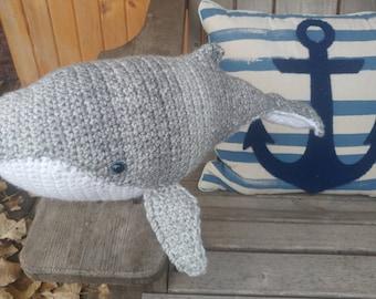 Crochet Humpback Whale Toy
