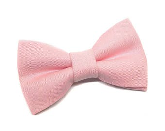 Pet Bow Tie, Cat Bow tie, Dog Bowtie, Pastel Pink, Baby Pink, Wedding