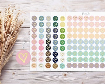 Foil Stickers | Hearts