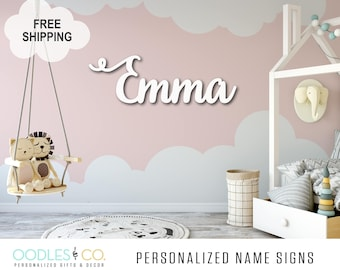 Name Sign for Nursery | Name Sign for Kids | Name Sign Wood | Nursery Name Sign |Nursery Name Sign Girl | Nursery Name Sign Boy |  DS05
