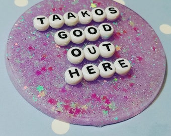 Adventure Zone Taakos good out here pin