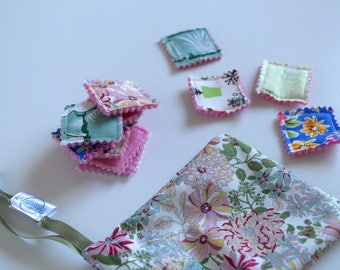 Fabric memory game/ Travel game/ Matching pairs/ Toddler game with storage bag, personnalisable