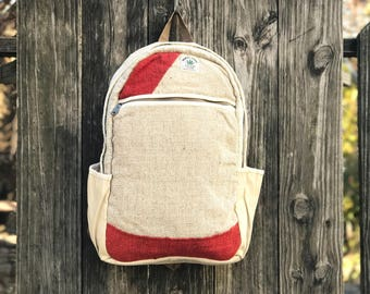 Handmade Hemp backpack