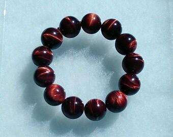 Red Tiger's Eye Bracelet