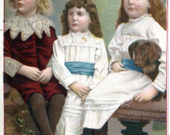 Victorian children's chromo