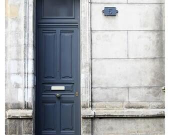 door photography, doors of France, grey door, white stone, elegant French door, fine art photography, Paris home decor, French architecture