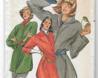 90s Butterick 5623 Misses Tops Sewing Pattern Size Large 16-18