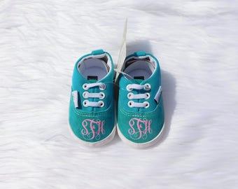 Custom Baby Shoes Baby Gift Monogram Baby Shoes Baby Girl Shoes Baby Boy Shoes Crib Shoes Baby Shower Gift Custom Baby Gift Baby Shoes