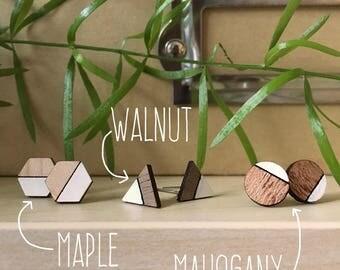 Geometric Minimalist Studs