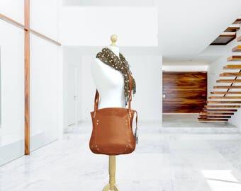 Leather bag cross-over orange everyday slouchy hobo  shoulder handbag women oversized minimalist classic cowhide crossbody zippered tote