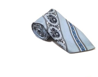 vintage tie  / menswear / vintage clothing /  gift for him / retro tie / polyester tie / vintage tie / Vintage tie / mens tie